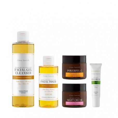 Dry skin luminosity pack