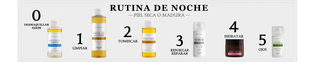 RUTINA DE NOCHE - PIEL SECA O MADURA